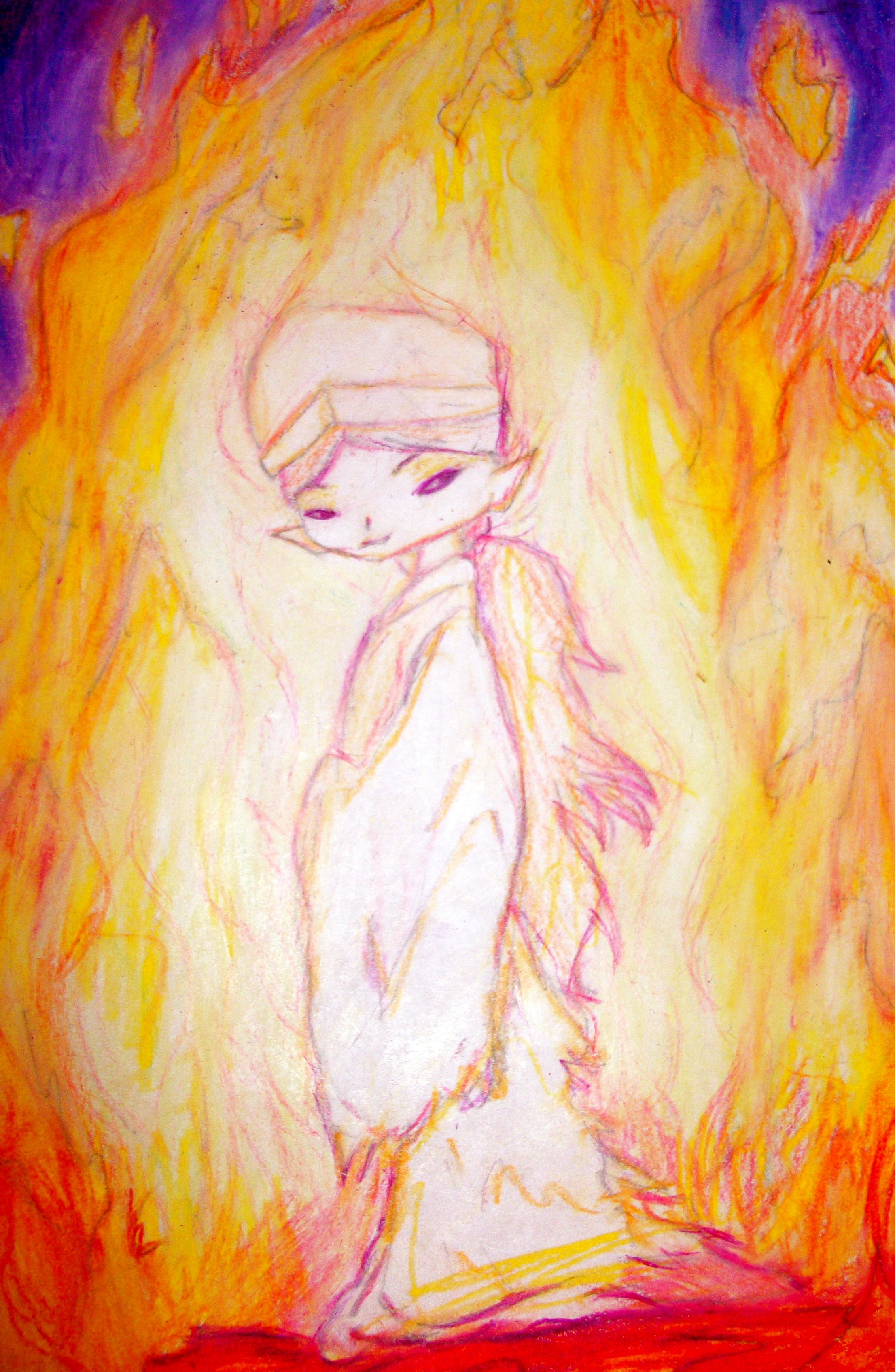 Wisp in the Flames