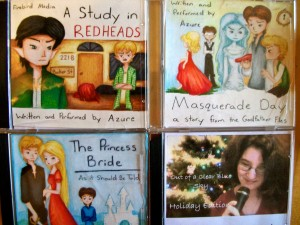 Homemade Audiobooks– Christmas Gift